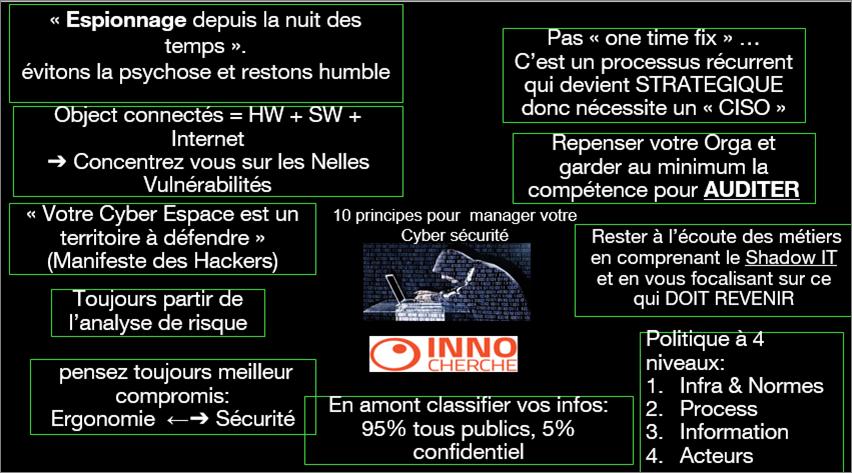 Think Tank Cybersécurité : compte rendu de la restitution du 8 novembre 2016